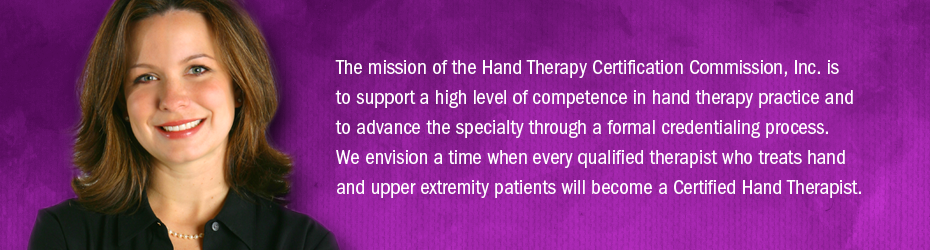 Hand Therapy Certification Commission - Home